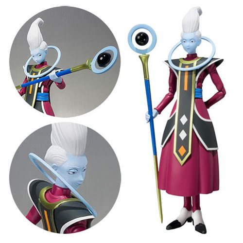 Dragon Ball Z Whis SH Figuarts Action Figure