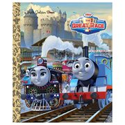 Thomas the Tank Engine Thomas and Friends The Great Race Little Golden Book