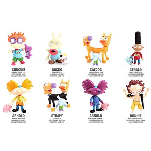 Arnold The Loyal Subjects Nickelodeon Action Vinyls