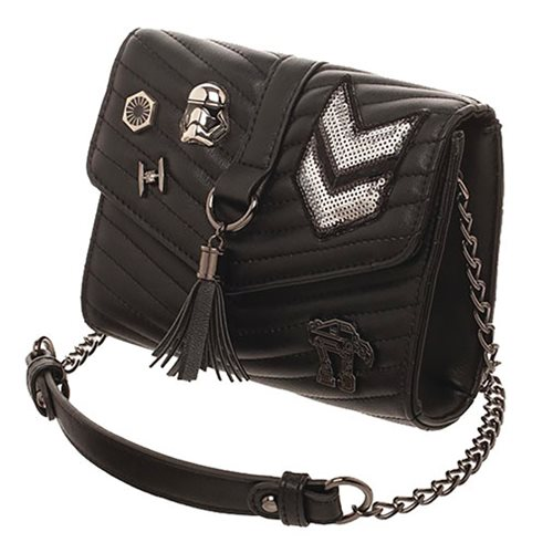 Star Wars: The Last Jedi Dark Side Quilted Crossbody Purse