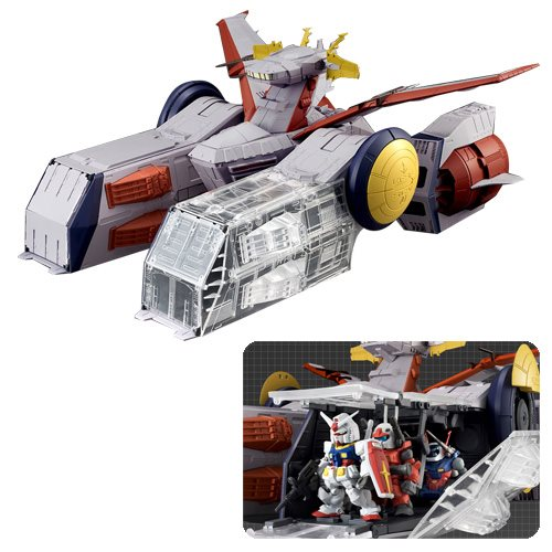 Mobile Suit Gundam FW Gundam Converge White Base Converge Set