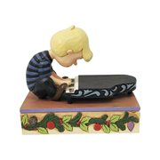 Peanuts Schroeder with Musical Piano Christmas Concert Statue by Jim Shore