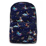 Aladdin Magic Carpet Ride Print Nylon Backpack