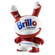Andy Warhol Brillo White 8-Inch Dunny Masterpiece Vinyl Figure