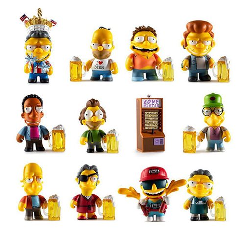 The Simpsons Moe's Tavern Mini-Figures Random 4-Pack