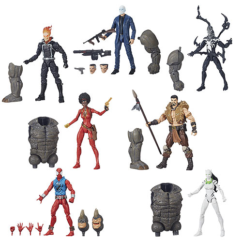 Amazing Spider-Man 2 Marvel Legends Figures Wave 4