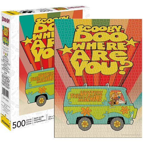 Scooby Doo Where Are You 500-Piece Puzzle