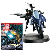 DC Superhero Batman and Batcycle Best Of Figure with Collector Magazine #1