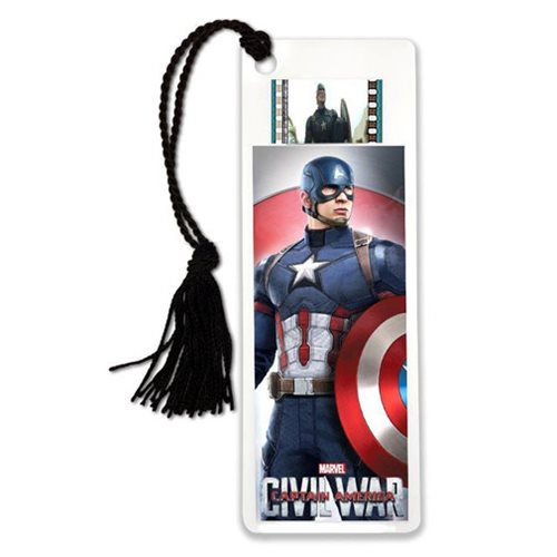 Captain America: Civil War Cap Film Cell Bookmark