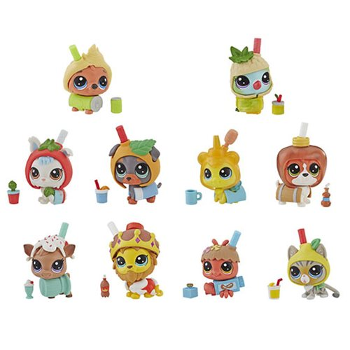 Littlest Pet Shop Thirsty Pets Mini-Figures Wave 1 Case