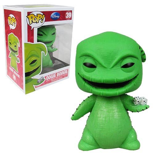 Nightmare Before Christmas Oogie Boogie Pop! Vinyl, Not Mint