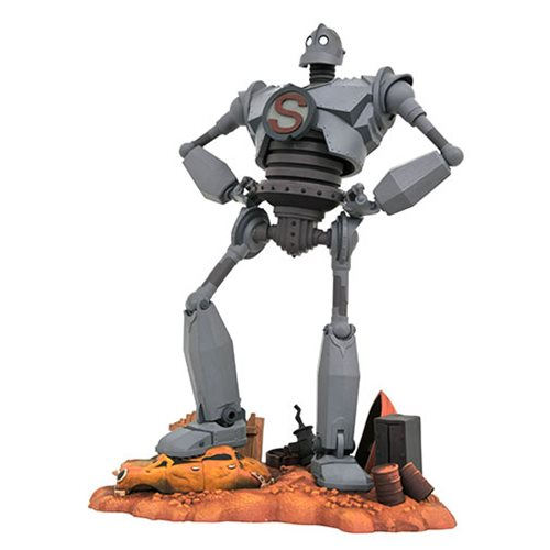 Iron Giant Gallery Superman Statue