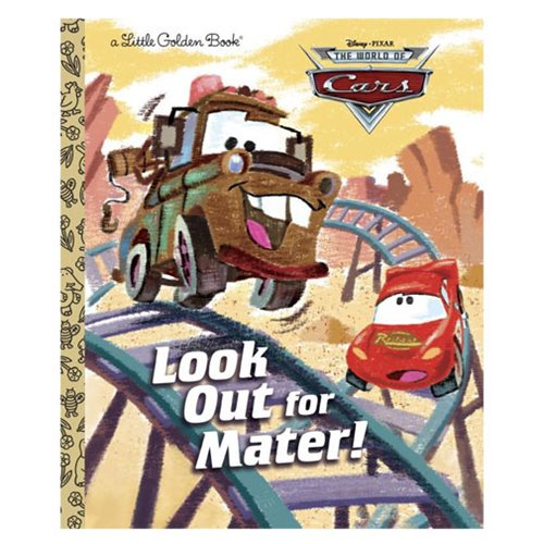 Disney/Pixar Cars Look Out for Mater! Little Golden Book