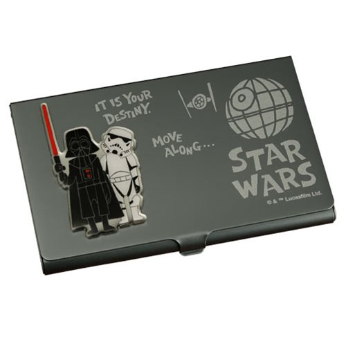 Star Wars Darth Vader and Stormtrooper Business Card Holder