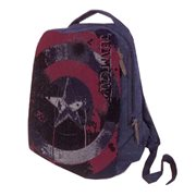 Marvel Comics Civil War Legend Captain America Canvas Backpack