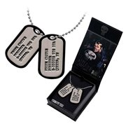 Punisher Frank Castle Dog Tags Necklace Replica - Entertainment Earth Exclusive