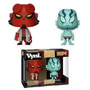 Hellboy and Abe Vynl. Figure 2-Pack