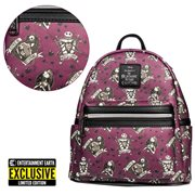 Nightmare Before Christmas Love Is Eternal Mini-Backpack - Entertainment Earth Exclusive