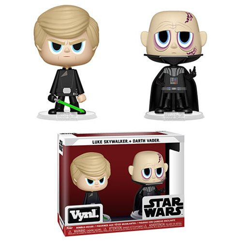 Star Wars: Episode VI - Return of the Jedi Darth Vader and Luke Skywalker Vynl Figure 2-Pack
