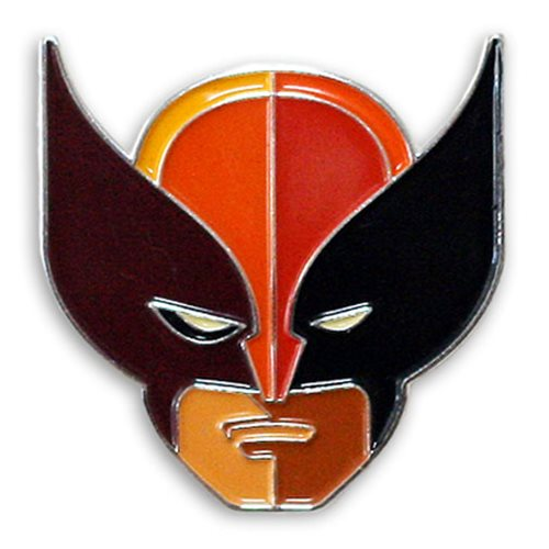 X-Men Wolverine Brown Suit Enamel Pin