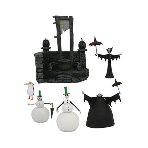 Nightmare Before Christmas Select Series 7 Action Figure Set