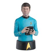 "Star Trek Bust Collection Dr. Leonard ""Bones"" McCoy Bust with Collector Magazine"