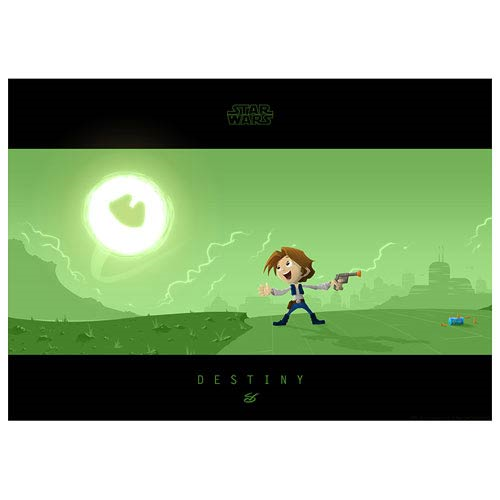 Star Wars Little Han's Destiny Paper Giclee Print
