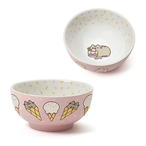 Pusheen the Cat Ice Cream Bowl
