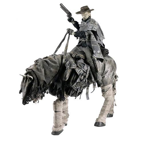 Dark Blind Cowboy Dead Equine 1:6 Scale Super Set