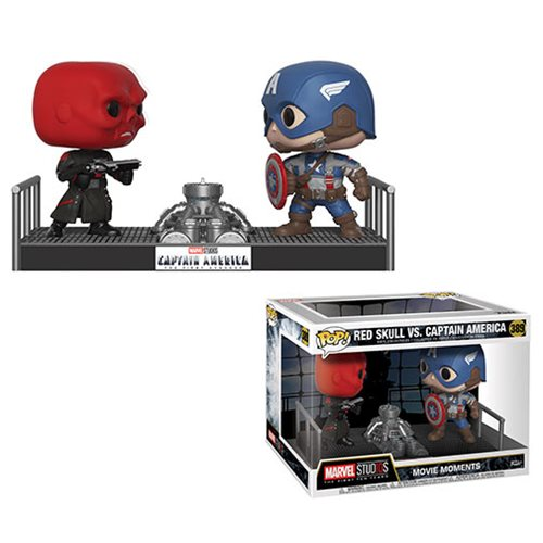 Marvel Captain America and Red Skull Pop! Vinyl Figure Movie Moments, Not Mint