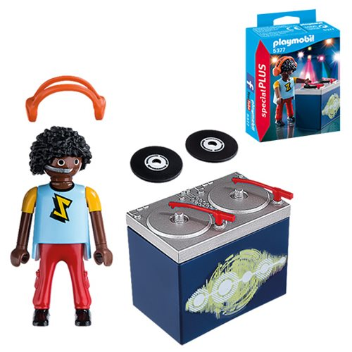 Playmobil 5377 DJ Action Figure