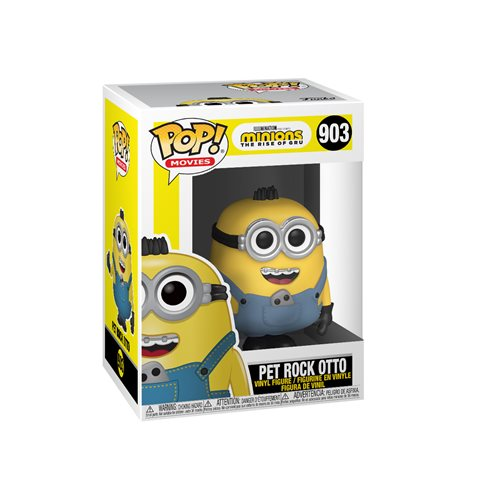 Minions: The Rise of Gru Pet Rock Otto Pop! Vinyl Figure