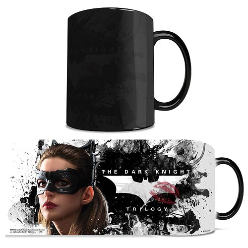 Batman Dark Knight Trilogy Catwoman Morphing Mug