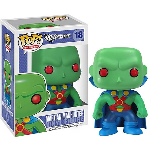 Martian Manhunter POP! Heroes Vinyl Figure