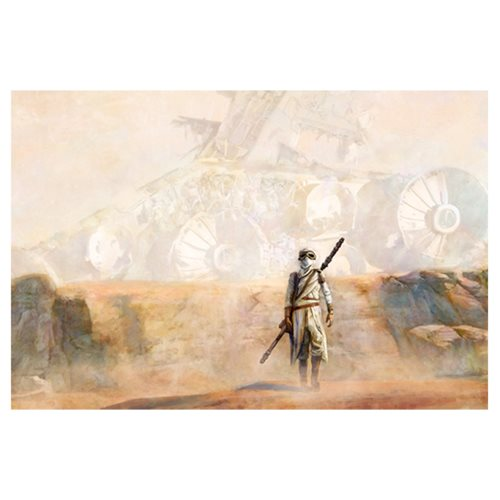 Star Wars Nowhere Rock by Cliff Cramp Canvas Giclee Art Print