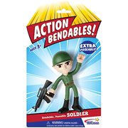 Action Bendables Soldier 4-Inch Bendable Action Figure