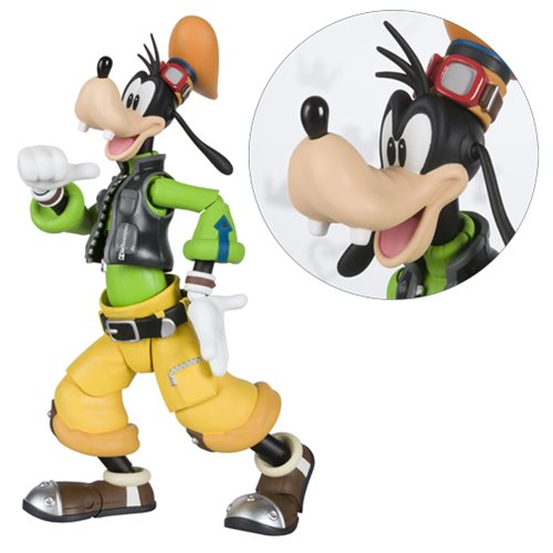Kingdom Hearts II Goofy SH Figuarts Action Figure