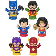 DC Super Friends Fisher-Price Little People Figure 2-Pk Case