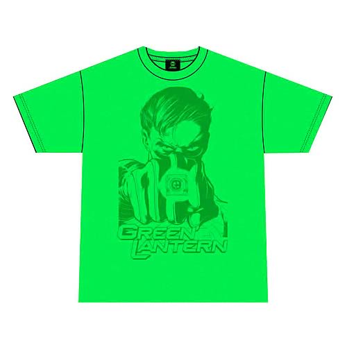 Green Lantern Taking Aim Green T-Shirt