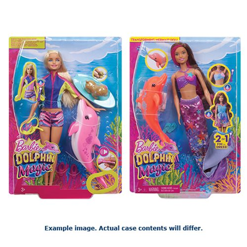 Barbie Dolphin Magic Story Fashion Pack Case