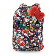 Hello Kitty Button Print Backpack