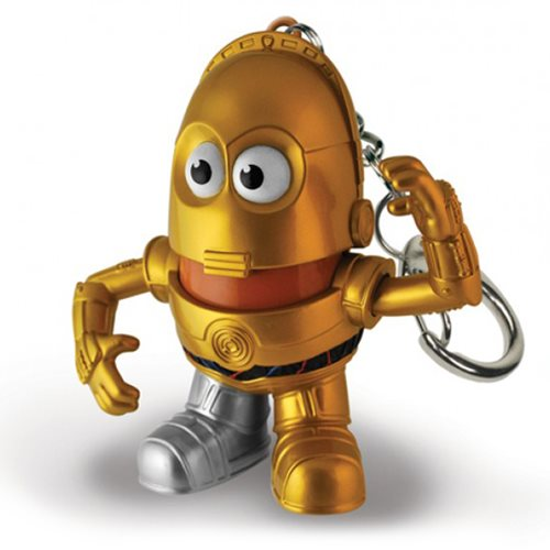 Star Wars C-3PO Mr. Potato Head Key Chain