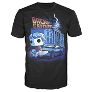 Back to the Future DeLorean Pop! T-Shirt