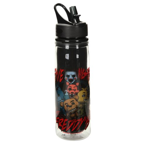 Five Nights at Freddy's Group Water Bottle
