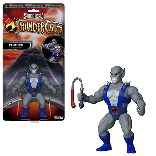 ThunderCats Panthro Savage World Action Figure