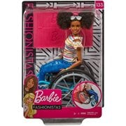 Barbie Fashionistas Doll #133 and Wheelchair Accessory