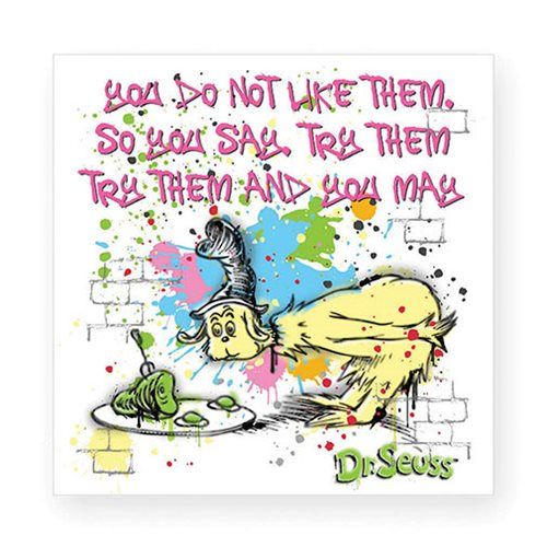 Dr. Seuss You Do Not Like Them Magnet
