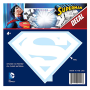 Superman Classic Logo White Decal