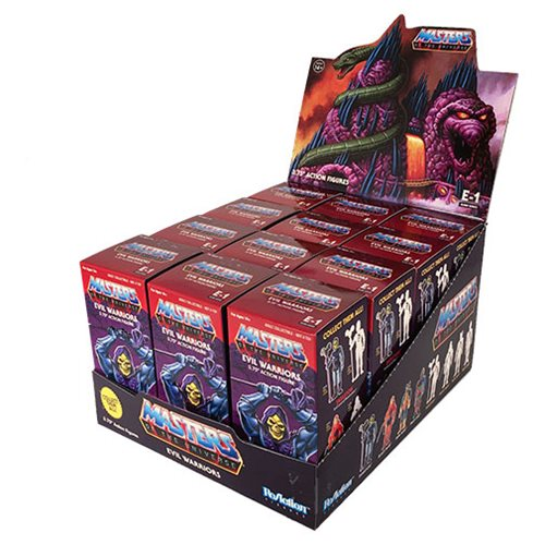 MOTU Blind Box Castle Grayskull ReAction Figure Box of 12
