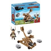Playmobil 9245 How to Train Your Dragon Gobber with Catapult
